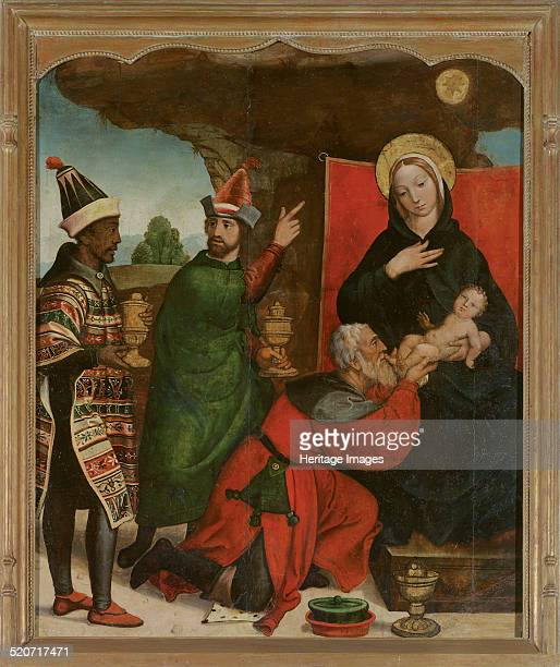 The Adoration of the Magi Found in the collection of Museo de Bellas Artes Salamanca