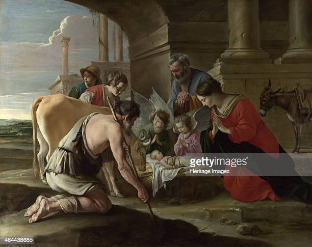 The Adoration of the Shepherds c 1640 Found in the collection of the National Gallery London