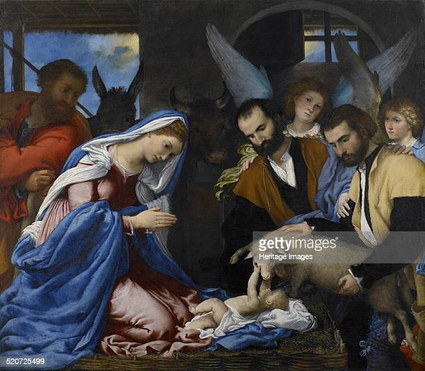The Adoration of the Shepherds Found in the collection of Pinacoteca Tosio Martinengo Brescia