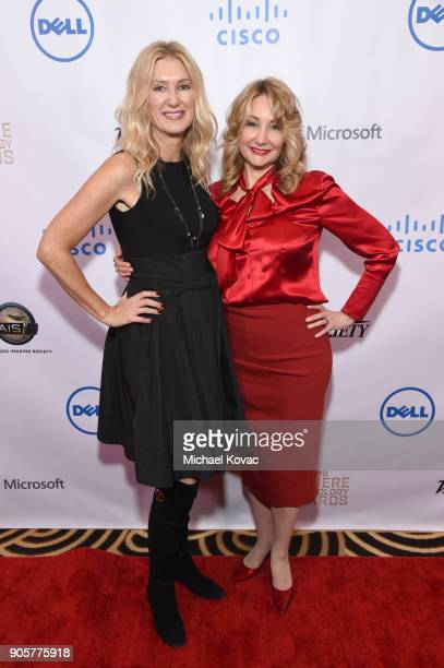 The Advanced Imaging Society EVP Debbie Menin and Variety Chief Marketing Officer Dea Lawrence attend the Advanced Imaging Society 2018 Lumiere...