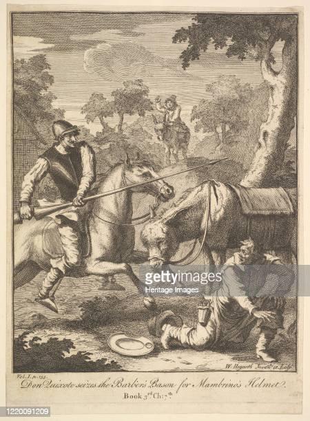 The Adventure of Mambrino's Helmet 1756 or after Artist William Hogarth