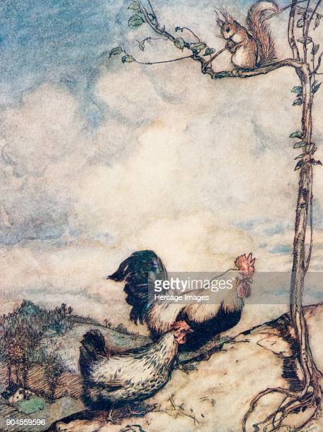 The Adventures of Chanticleer and Partlet 1909 Now we will go up the hill and have a good feast before the squirrel carries off all the nuts The...