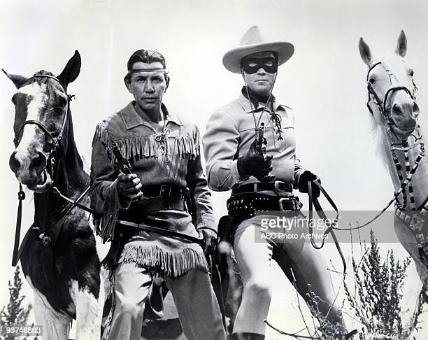 RANGER 194957 The adventures of masked hero The Lone Ranger and his Native American partner Tonto