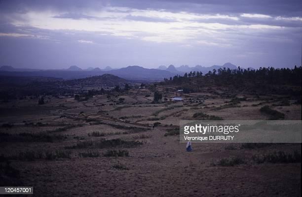 The Adwa Mountains in Axum Tigray Ethiopia