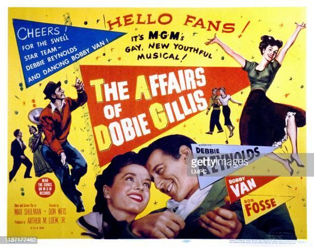 The Affairs Of Dobie Gillis poster Debbie Reynolds Bobby Van 1953