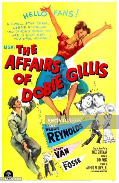 The Affairs Of Dobie Gillis poster US poster Debbie Reynolds Bobby Van 1953