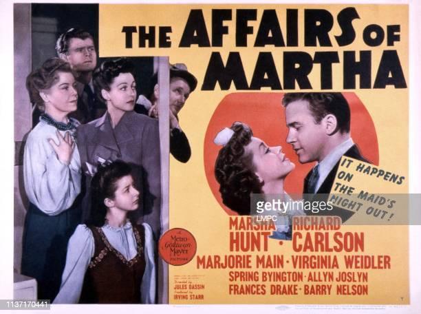 left bottom to top Virginia Weidler Spring Byington Frances Drake Marjorie Main Barry Nelson center Marsha Hunt Richard Carlson 1942