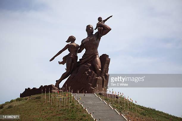 The African Renaissance Monument, Dakar, Senegal, Africa