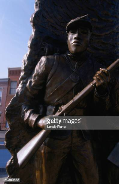 The African-American Civil War Memorial is the first monument to honour coloured soldiers in the Civil War.