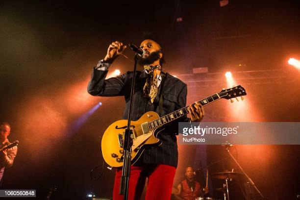 The africanamerican singer and song writer Fantastic Negrito performing live at Santeria Social Club in Milan Italy on 11 November 2018