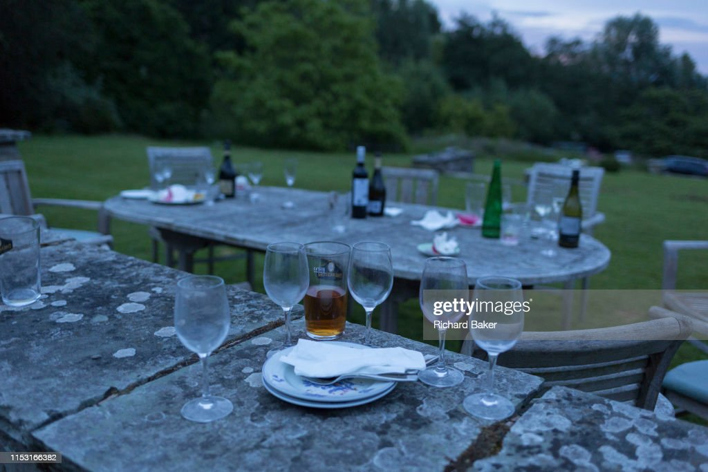 Country Birthday Party Aftermath : News Photo
