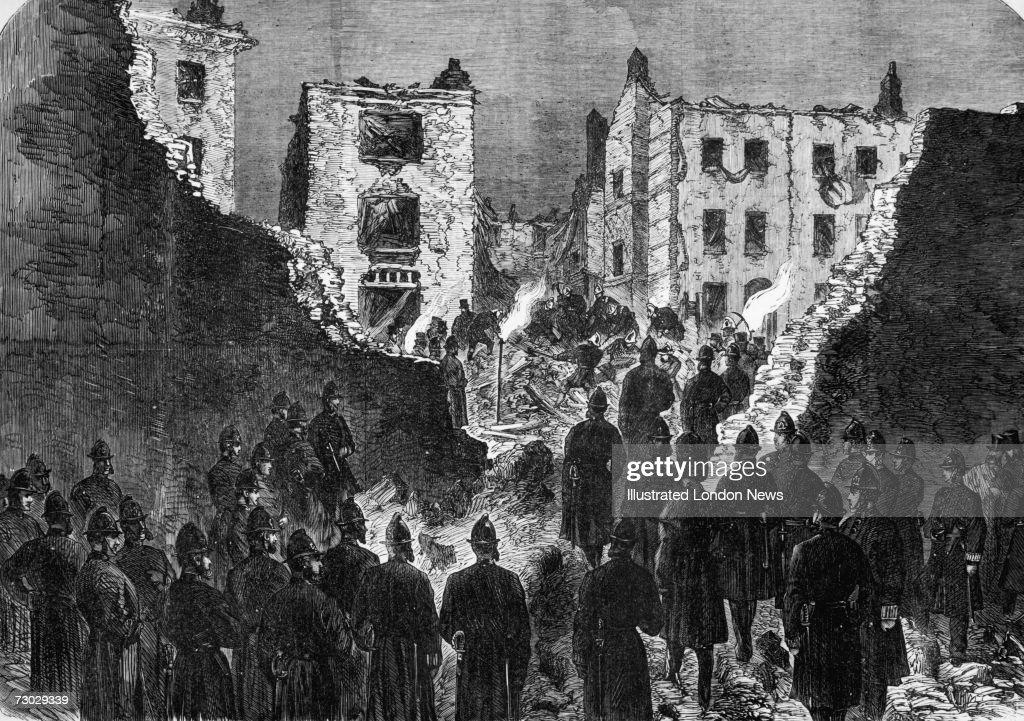 Clerkenwell Bombing : News Photo