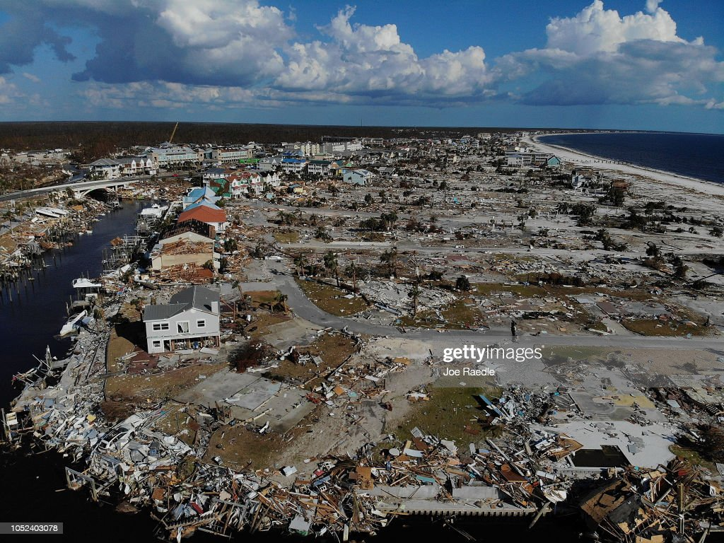 Recovery Efforts Continue In Hurricane-Ravaged Florida Panhandle : News Photo