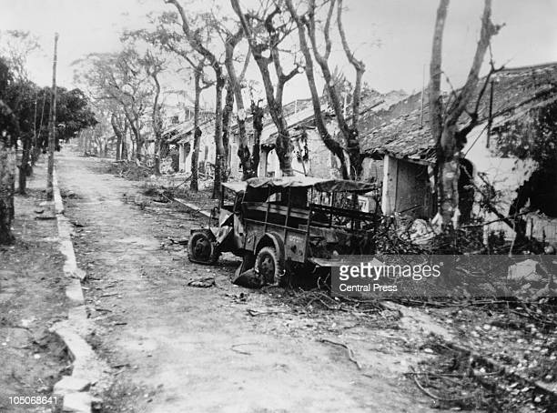 The aftermath of the Battle of Hue in which American and South Vietnamese forces recaptured the city from the Viet Cong during the Vietnam War 15th...