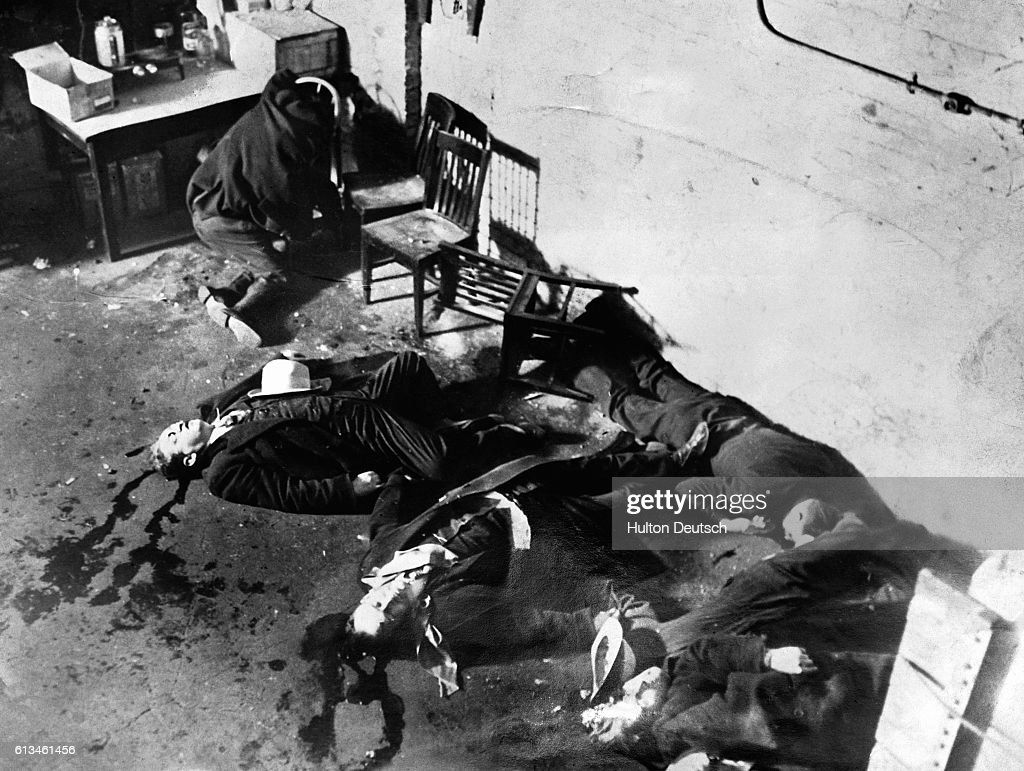 The Aftermath Of The Valentine S Day Massacre Of February 14 1929