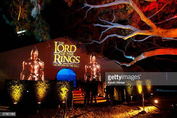 The afterparty for The Lord of the Rings The Return of the King at the Wadsworth Theater on December 03 2003 in Los Angeles California
