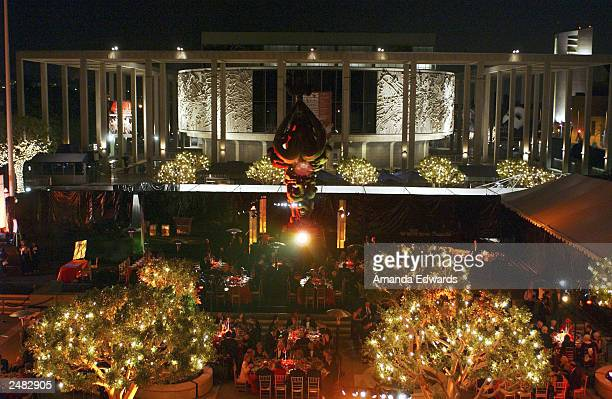 The afterparty for the Los Angeles Opera's opening of its 18th season with a production of La damnation de Faust at the Dorothy Chandler Pavilion...