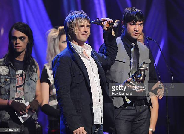 The Afters onstage at the 40th Annual GMA Dove Awards held at the Grand Ole Opry House on April 23, 2009 in Nashville, Tennessee.