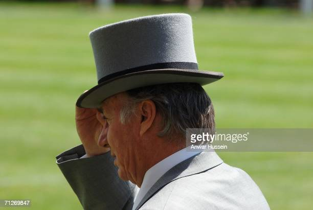 The Aga Khan attends Ladies Day on the third day of Royal Ascot at the Ascot Racecourse on June 22 2006 in Berkshire England The event has been one...