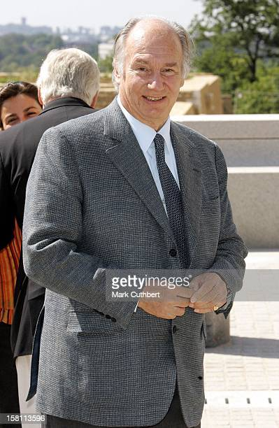 The Aga Khan Attends The Silver Wedding Anniversary Celebrations Of Grand Duke Henri & Grand Duchess Maria-Theresa Of Luxembourg.Lunch & Reception At...
