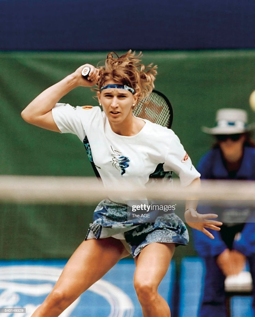 Images Steffi Graf Best the age of tennis. steffi graf is a study in concentration as she