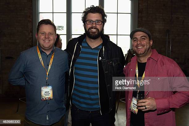 The Agency Group's Adam Countryman guest and the Agency Group's Anthony Paolercio attend the Agency Group Party during Pollstar Live 2015 at Acme...