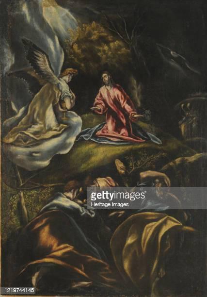 The Agony in the Garden 16001607 Found in the Collection of Museo Nacional de Bellas Artes de Buenos Aires Artist El Greco Dominico