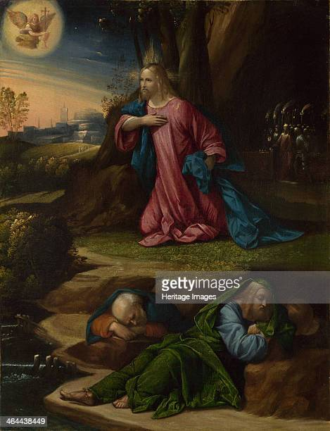 The Agony in the Garden Between 1520 and 1539 Found in the collection of the National Gallery London