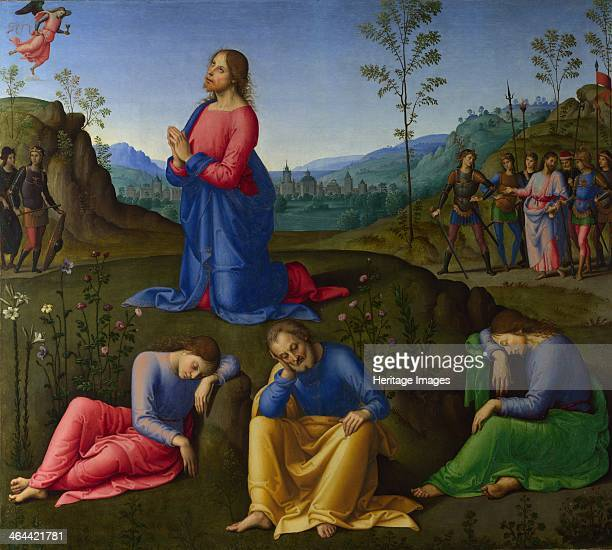 The Agony in the Garden c 15021503 Found in the collection of the National Gallery London