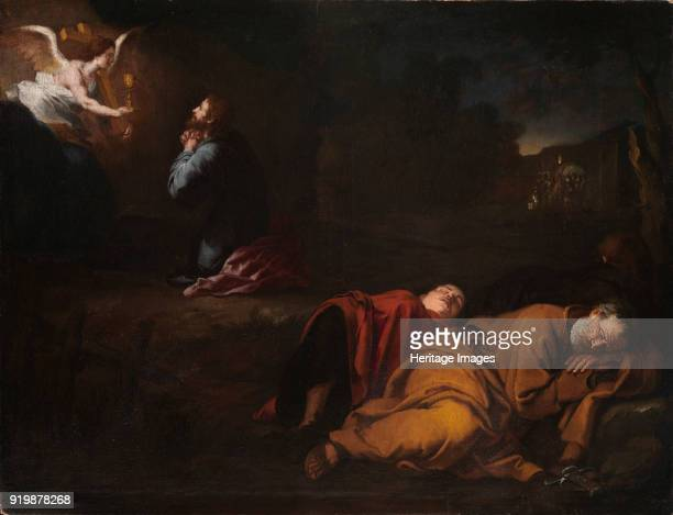 The Agony in the Garden c 1655 Found in the collection of Museo de Bellas Artes de ValenciaFine Art Images/Heritage Images/Getty Images