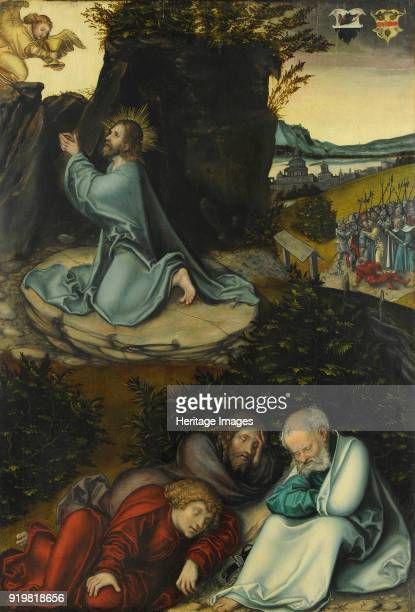 The Agony in the Garden c1540 Found in the collection of Museum Kunstpalast Düsseldorf