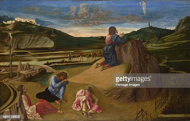 The Agony in the Garden, ca 1465. Found in the collection of the National Gallery, London.