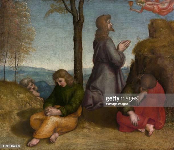 The Agony in the Garden circa 1504 Artist Raphael