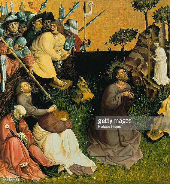 The Agony in the Garden The Wings of the Wurzach Altar 1437 Found in the collection of the Staatliche Museen Berlin
