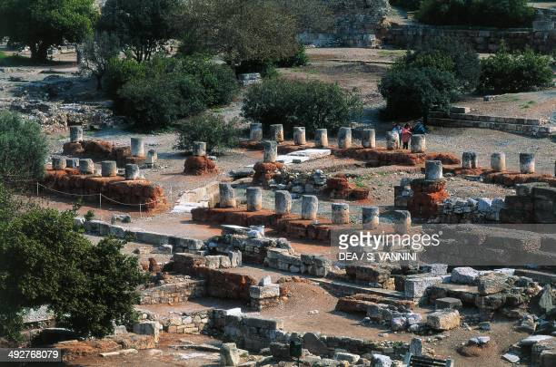 The Agora southwest of the Acropolis 6th century BC Athens Attica Greece