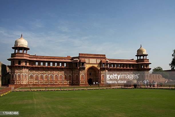 The Agra Fort, also known as Lal Qila, is located about two and a half kilometers northwest of the famous Taj Mahal, in Agra, India. Mughal Emperors...