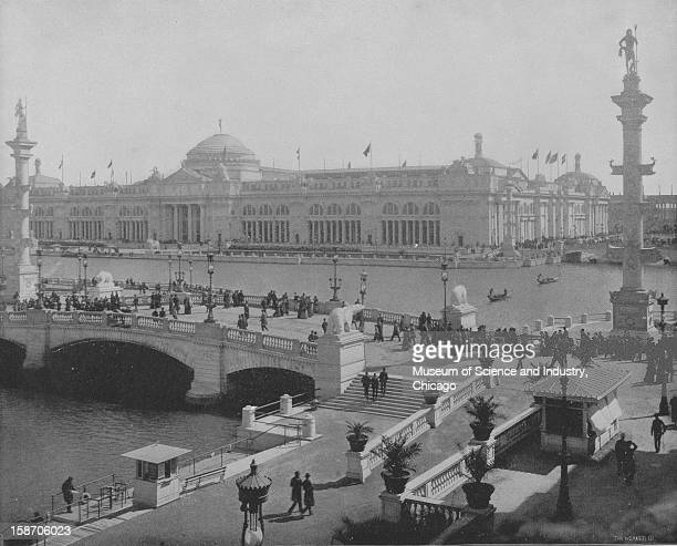 The Agricultural Building at the World's Columbian Exposition in Chicago Illinois 1893 This image was published in the 'Portfolio of Photographs of...