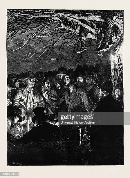 The Night Meeting Of Farm Labourers At Wellesbourne Warwickshire