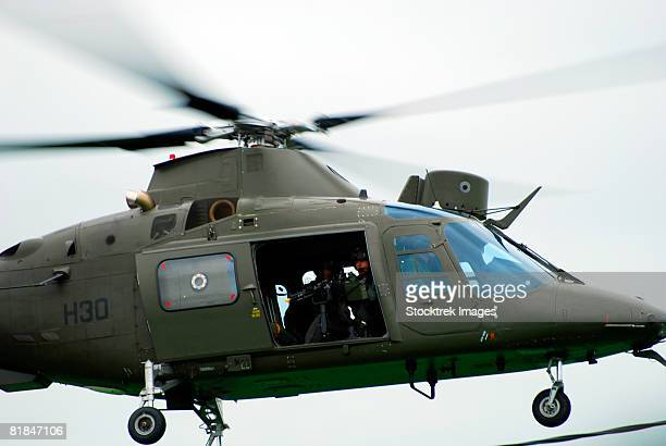 The Agusta A109, used by the Belgian Army.