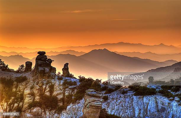 the ahhh moment - mt lemmon stock photos and pictures