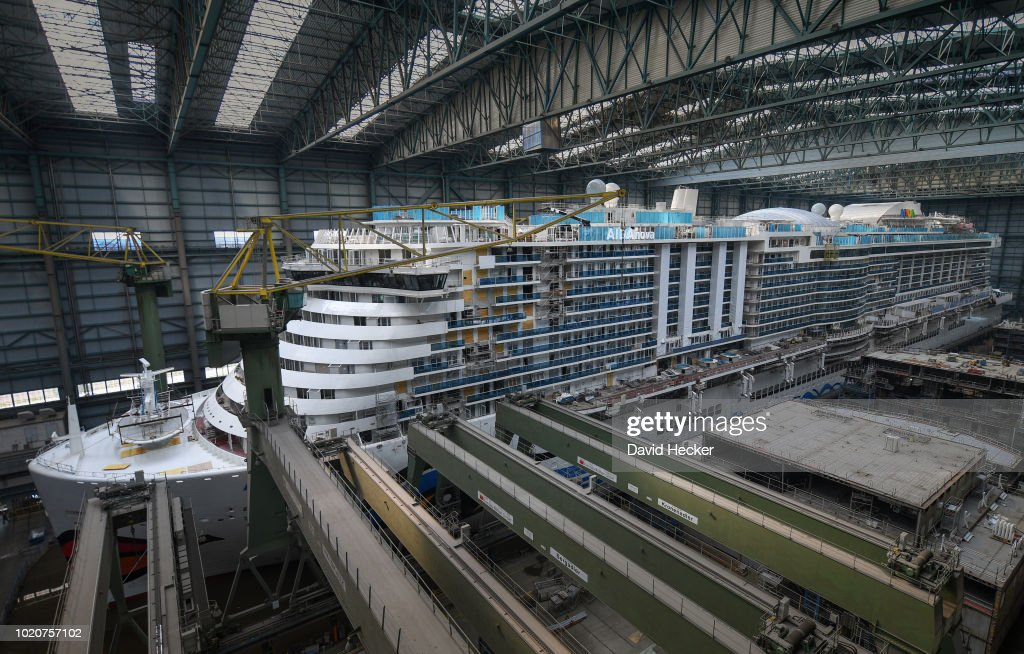 AIDAnova, World's First Liquefied Natural Gas -Powered Cruise Ship, Leaves Dock