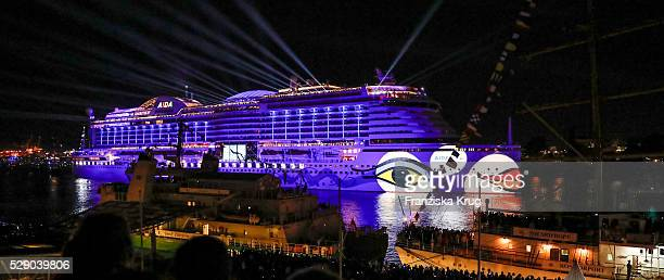 The AIDAprima Cruise Ship Baptism during the 827th HAMBURG PORT ANNIVERSARY on May 7 2016 in Hamburg Germany