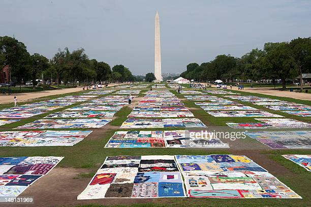 The AIDS Memorial Quilt on display at the Mall The 2012 International AIDS Conference in Washington this year is a gathering of policymakers...