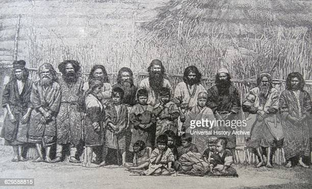 The Ainu or the Aynu an indigenous people of Japan and Russia