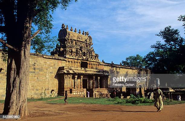 The Airavatesvara temple is dedicated to Lord Shiva and was built in the 12th century