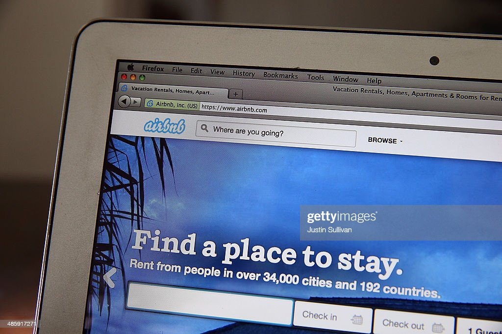 Airbnb'S Value Estimated At $10 Billion After New Round Of Investments : News Photo