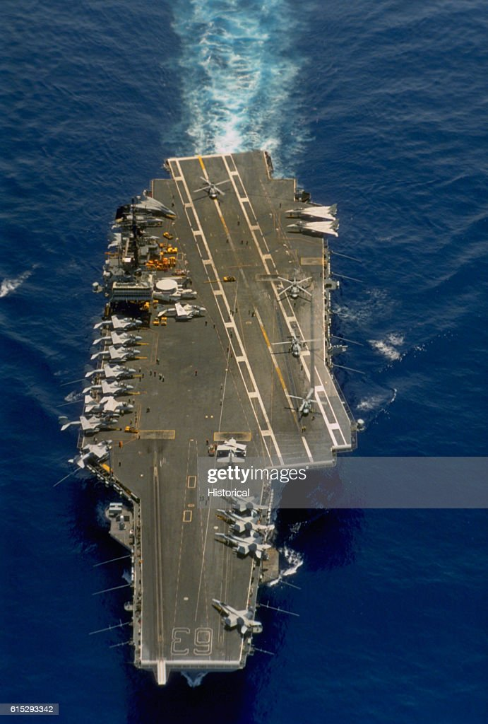Dod Photo By Petty Officer 2nd Cl William H Ramsey U S Navy The Aircraft Carrier