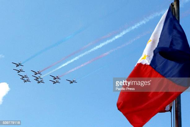The aircraft that acquired by the Pres Benigno Aquino III administration passing through to the Philippine flag during the celebration of 118th...