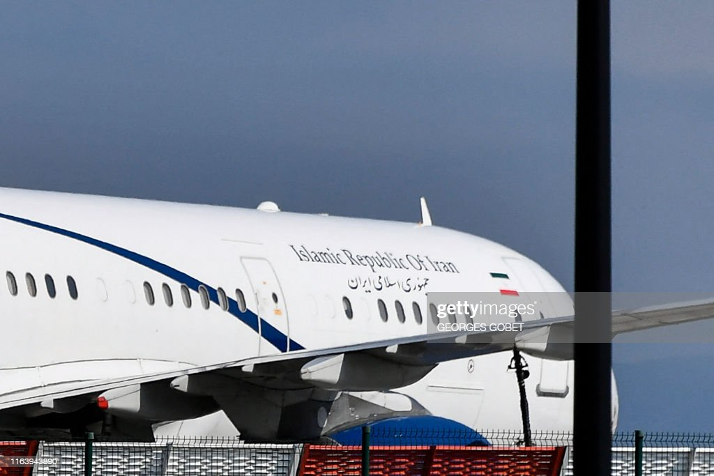 FRANCE-IRAN-G7-SUMMIT : News Photo