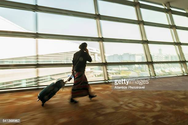 The airport in Delhi